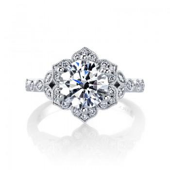 MARS Diamond Engagement Ring, 0.27 ctw