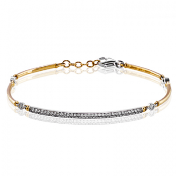 18K TWO TONE GOLD  MB1572-Y BRACELET